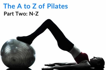 The A to Z of Pilates - Part Two