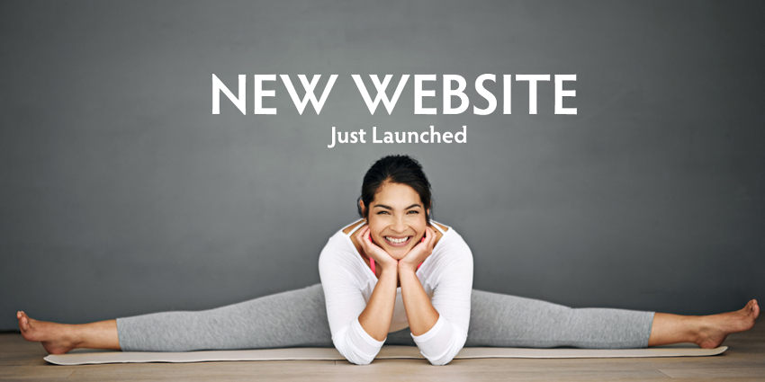 Just Launched: New Pilates Website